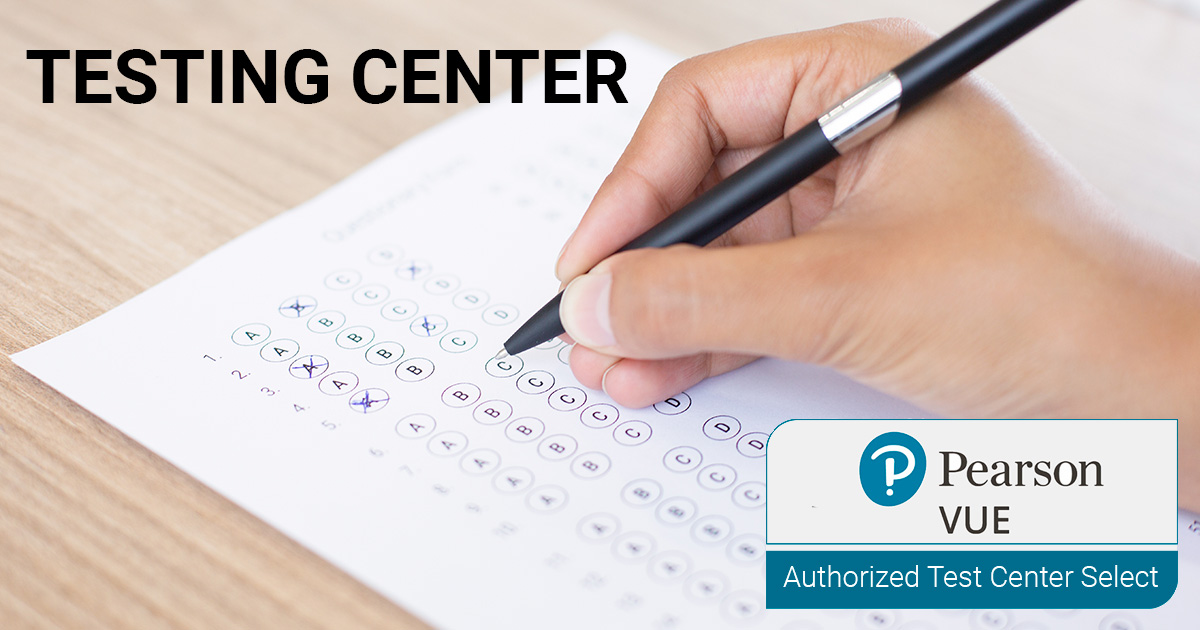 Pearson VUE Authorized Test Center Select